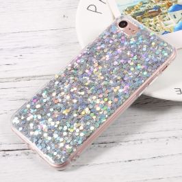 FORCELL BLING TPU obal Apple iPhone 7 / iPhone 8 strieborný